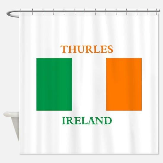 Thurles Ireland Shower Curtain