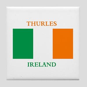 Thurles Ireland Tile Coaster