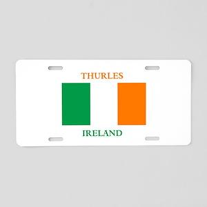 Thurles Ireland Aluminum License Plate