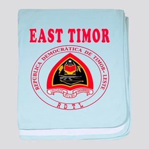 East Timor Coat Of Arms Designs baby blanket