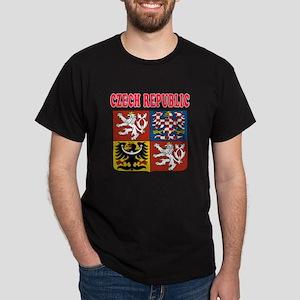 Czech Republic Coat Of Arms Designs Dark T-Shirt