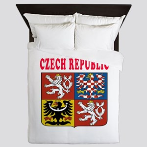 Czech Republic Coat Of Arms Designs Queen Duvet