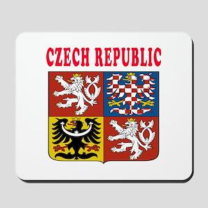 Czech Republic Coat Of Arms Designs Mousepad