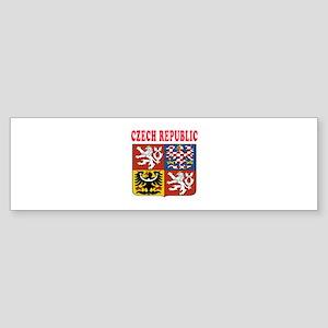 Czech Republic Coat Of Arms Designs Sticker (Bumpe