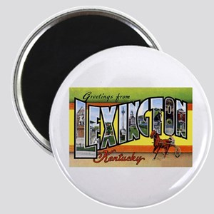 Lexington Kentucky Greetings Magnet