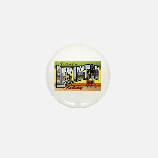 Lexington Kentucky Greetings Mini Button