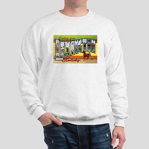 Lexington Kentucky Greetings (Front) Sweatshirt