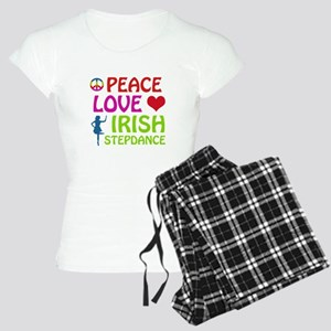 Peace Love Irish Stepdance Women's Light Pajamas