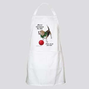 Christmas Beagle Holiday Apron