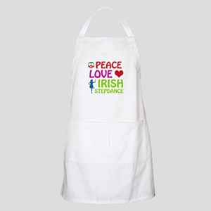 Peace Love Irish Stepdance Apron