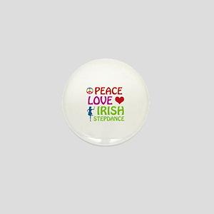 Peace Love Irish Stepdance Mini Button