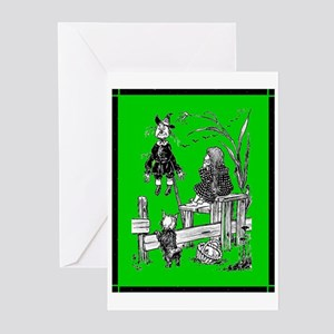 Scarecrow & Dorothy Meet Greeting Cards (Package o