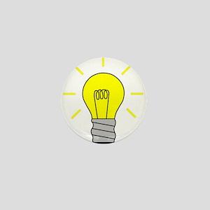 Light Bulb Idea Mini Button