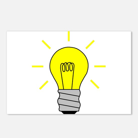 Light Bulb Idea Postcards (Package of 8)