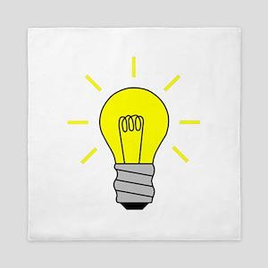 Light Bulb Idea Queen Duvet