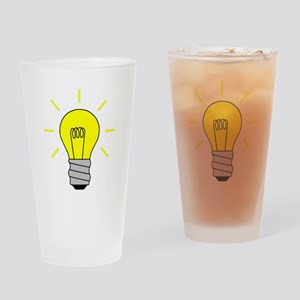 Light Bulb Idea Drinking Glass