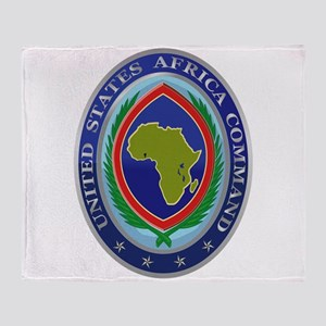 United States Africa Command Throw Blanket