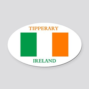 Tipperary Ireland Oval Car Magnet