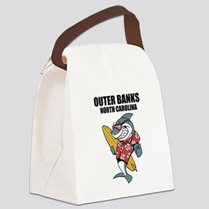 Outer Banks, North Carolina Canvas Lunch Bag