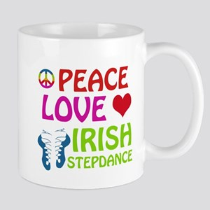 Peace Love Irish Stepdance Mug