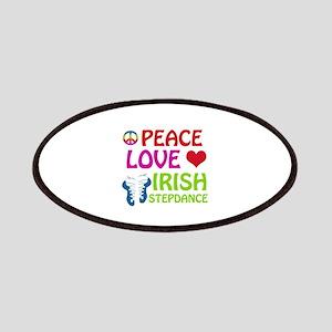 Peace Love Irish Stepdance Patches