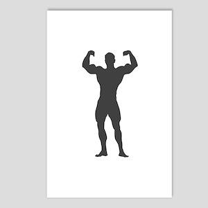 Bodybuilder Bodybuilding Postcards (Package of 8)
