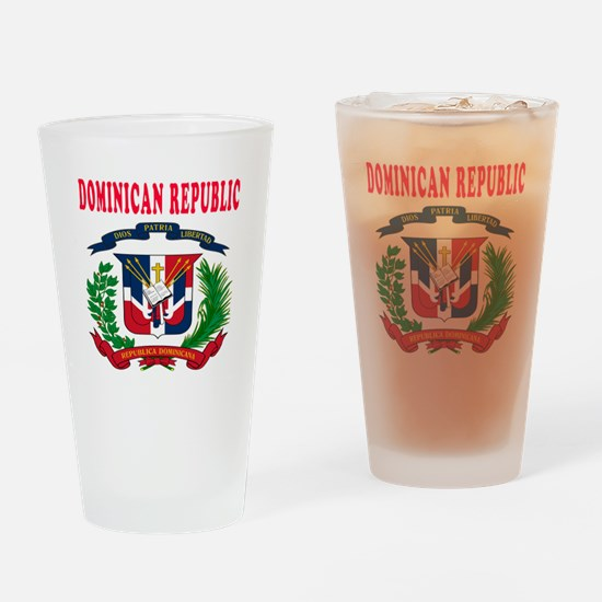 Dominican Republic Coat Of Arms Designs Drinking G