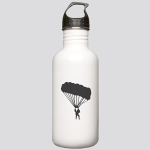 Skydiving Parachuting Stainless Water Bottle 1.0L