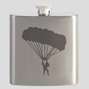Skydiving Parachuting Flask