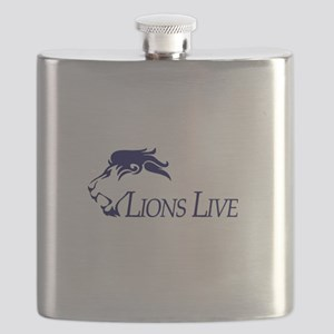 Lions Live Flask
