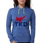 Taekwondo Womens Hooded Shirt