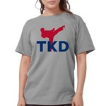 Taekwondo Womens Comfort Colors Shirt