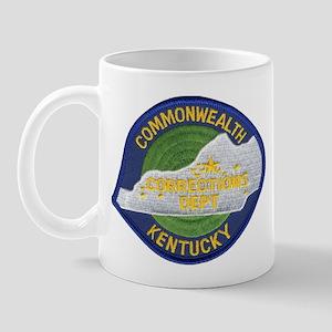 Kentucky Corrections Mug