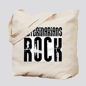 Veterinarians Rock Tote Bag