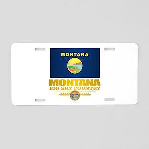 Montana Pride Aluminum License Plate