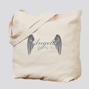 Angels Got My Back Tote Bag