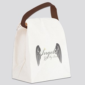 Angels Got My Back Canvas Lunch Bag