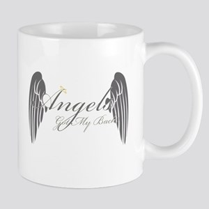 Angels Got My Back Mug