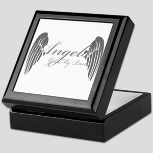 Angels Got My Back Keepsake Box