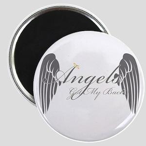 Angels Got My Back Magnet