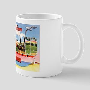 Long Island New York Greetings Mug