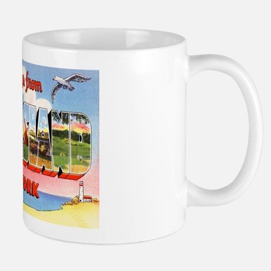 Long Island New York Greetings Mug