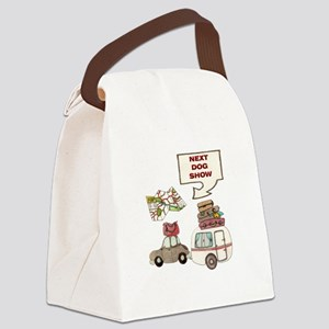 Next Dog Show Canvas Lunch Bag