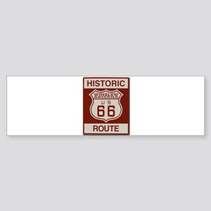 Winslow Historic Route 66 Bumper Sticker