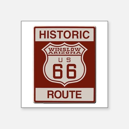 Winslow Historic Route 66 Sticker