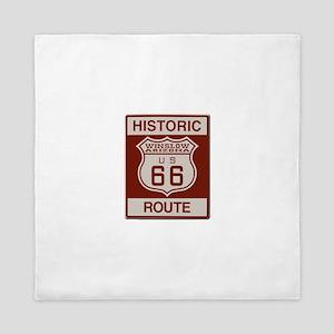 Winslow Historic Route 66 Queen Duvet