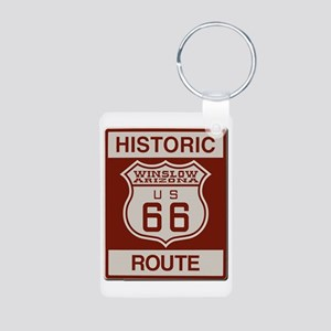 Winslow Historic Route 66 Keychains