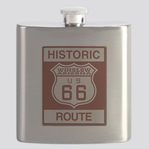 Winslow Historic Route 66 Flask
