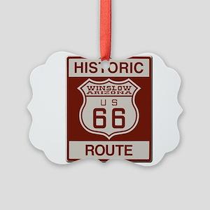 Winslow Historic Route 66 Ornament