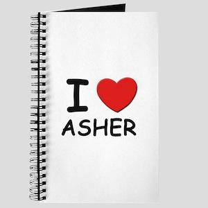 I love Asher Journal
